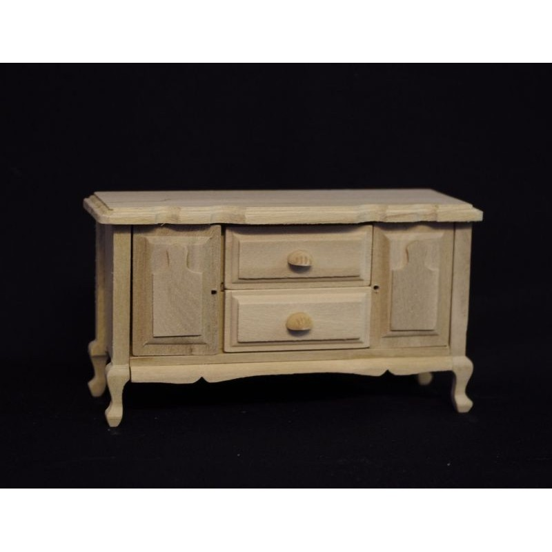 VEGAMINI_ CHEST WITH DRAWERS AND DOORS UNPAINTED 1/12