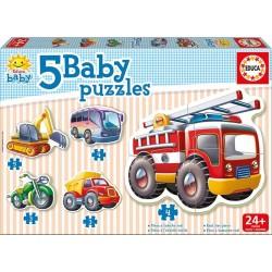 EDUCA_ 5 BABY PUZZLES PROGRESIVOS