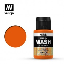 VALLEJO_ MODEL WASH_ OXIDO OSCURO 35ml.