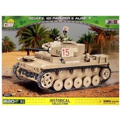 COBI_ Sd.Kfz.121 PANZER II Ausf.F (420 piezas-1 figura)
