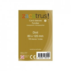 FUNDAS DE CARTAS DIXIT (80 MM X 120 MM) (100 UDS)