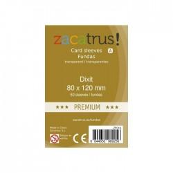 FUNDAS DE CARTAS DIXIT PREMIUM (80 MM X 120 MM) (50 UDS)