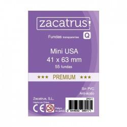 Fundas De Cartas Mini Usa Premium 41 x 63 mm. 55 Uds.