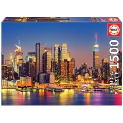 Educa 18466_ Manhattan de Noche. Puzzle 1500 piezas
