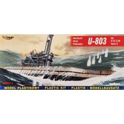 Mirage Hobby_ U-803 IX C/40 German Submarine_ 1/400