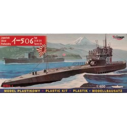 MIRAGE HOBBY_ I-506 U-IX JAPANESE SUBMARINE_ 1/400