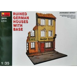 MINIART_ RUINED GERMAN HOUSES w/ BASE_ 1/35