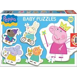 EDUCA_ BABY PUZZLES PEPPA PIG (+24 MESES)