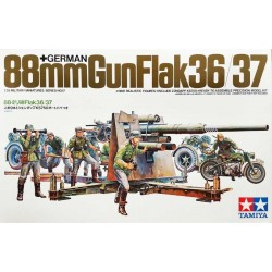 TAMIYA_ GERMAN 88mm GUN FLAK 36/37_ 1/35