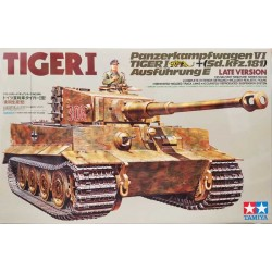 TAMIYA_ TIGER I Ausf.E Sd.Kfz.181LATE VERSION_ 1/35