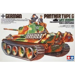 TAMIYA_ GERMAN PANTHER TYPE G LATE VERSION_ 1/35