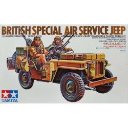 TAMIYA_ BRITISH SPECIAL AIR SERVICE JEEP_ 1/35