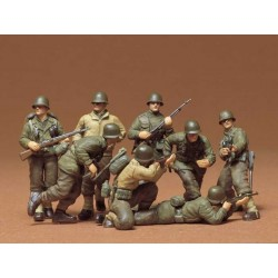 TAMIYA_US COMBAT GROUP SET