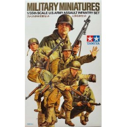 TAMIYA_ US ARMY ASSAULT INFANTRY SET_ 1/35