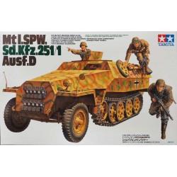 TAMIYA_ MtI. SPW. SdKfz.251/1 Ausf.D_ 1/35