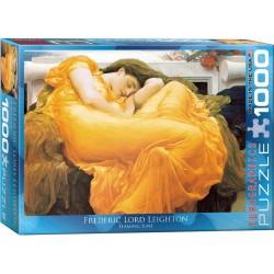 EUROGRAPHICS_ FLAMING JUNE (FREDERICK LORD LEIGHTON). PUZZLE 1000 PIEZAS