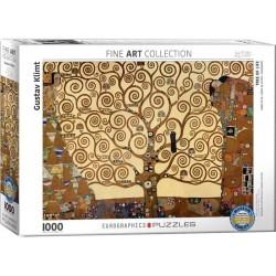 EUROGRAPHICS_ ARBOL DE LA VIDA (GUSTAV KLIMT). PUZZLE 1000 PIEZAS