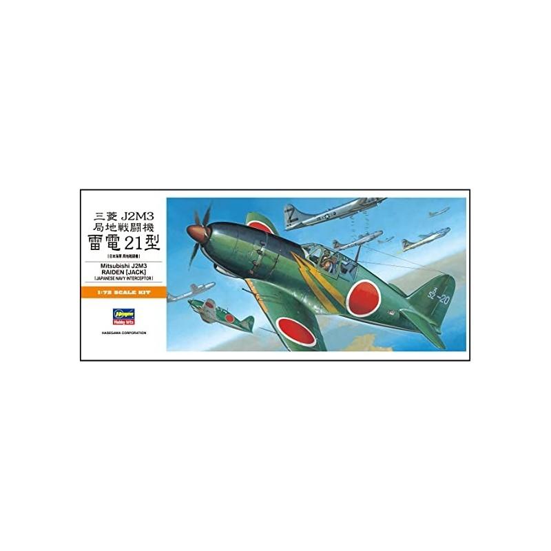 HASEGAWA_ MITSUBISHI J2M3 RAIDEN (JACK)_ 1/72