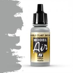Vallejo Model Air_ Gris Cielo FS36463