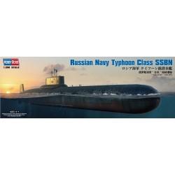 HOBBY BOSS_ RUSSIAN NAVU TYPHOON CLASS SSBN_ 1/350