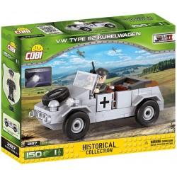 COBI_ SMALL ARMY VW TYPE 82 KUBELWAGEN (150 piezas)