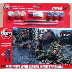 AIRFIX_ MULTIPOSE WWII GERMAN INFANTRY (STARTER SET)_ 1/32