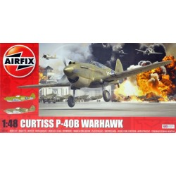 AIRFIX_ CURTIS P-40B WARHAWK_ 1/48
