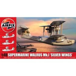 "AIRFIX_ SUPERMARINE WALRUS MK,I ""SILVER WINGS"" 1/48"