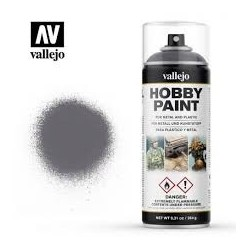 VALLEJO HOBBY PAINT_ SPRAY GRIS METAL 400ml.