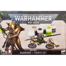 GW_ WARHAMMER 40.000 WARRIORS + PAINTS SET