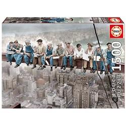 Educa 16009_ Almuerzo en Nueva York_ Puzzle 1500pcs.