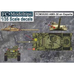 CALCAS ESPAÑOLAS AMX-30