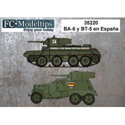 CALCAS ESPAÑOLAS BT-5 y BA-6