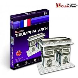 CUBIC FUN_ ARCO DEL TRIUNFO DE PARIS, 3D PUZZLE