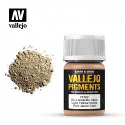VALLEJO_PIGMENTO 30ml OCRE AMARILLO CLARO