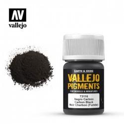 Vallejo_ Pigmento Negro Carbón (Humo) 30 ml.