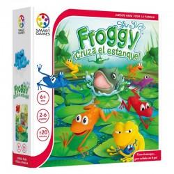 Froggy, Cruza el Estanque