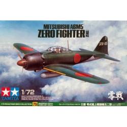 Tamiya_ Mitsubishi A6M5 Zero Fighter (Zeke)_ 1/72