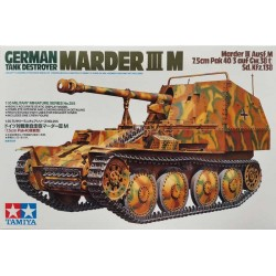 Tamiya_ Marder III M. German Tank Destroyer_ 1/35