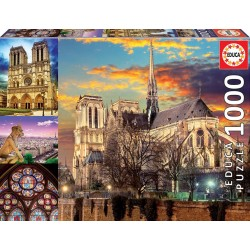 Educa_ Collage de Notre Dame Puzzle 1000pcs.