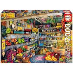 Educa Puzzle_ Tienda de comestibles . 2000 piezas