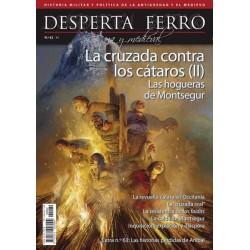 Desperta Ferro Antigua Nº62_ La Cruzada contra los Cátaros (II) Las Hogueras de Montsegur.Portada