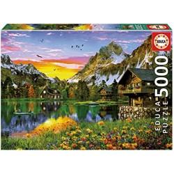 Educa Puzzle_ Lago Alpino....