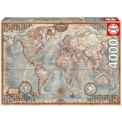 Compra puzzle El Mundo Mapa Politico Educa juguetería técnica Badajoz