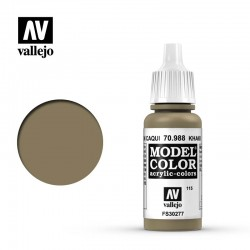 Vallejo Model Color_ Marrón Caqui (115) FS30277
