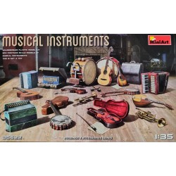 MiniArt_ Musical Instruments_ 1/35