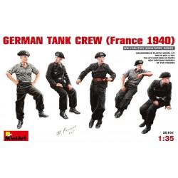 MiniArt_ German Tank Crew (France 1940)_ 1/35