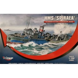 Mirage Hobby_ HMS Spiraea Flower Class Corvette (K08)_ 1/350