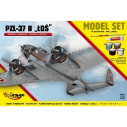 Mirage Hobby_ PZL-37 B (Set de Iniciación)_ 1/72
