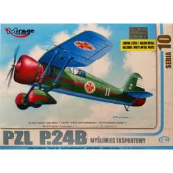 Mirage Hobby_ PZL P.24B_ 1/48
